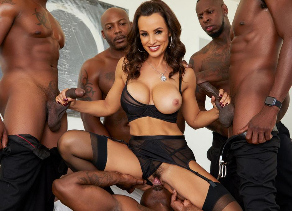 Big Tit Asian Black Gangbang